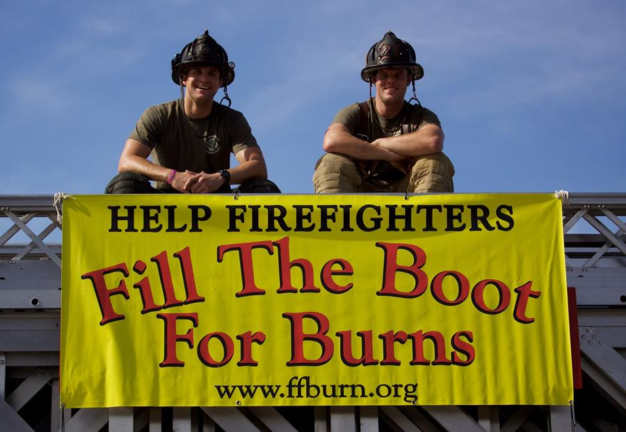 2017 Fill The Boot For Burns Boot Drive Fundraiser