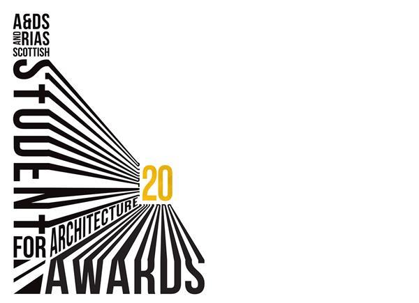Student Awards 2020 logo in white background