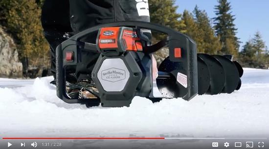 Strikemaster Lithium Ice Auger