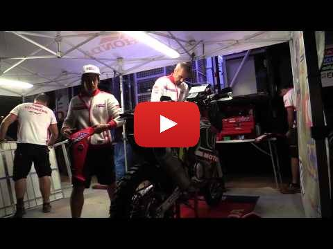 Team HRC Dakar Rally 2015 - Stage 9 'Behind the Scenes'
