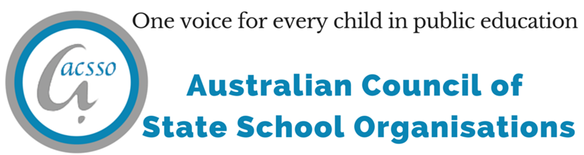 A newsletter from the Australian Council of State School Organisations