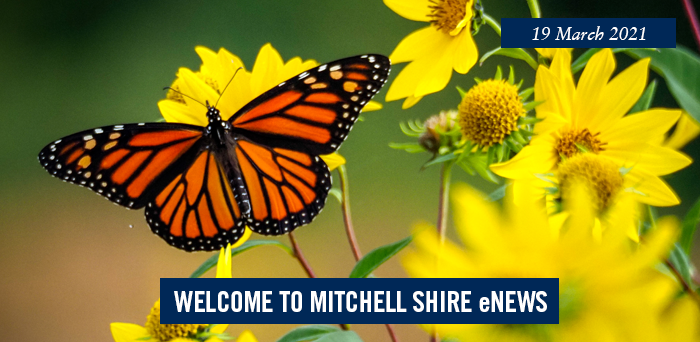 words: welcome to Mitchell Shire eNews, 19 March 2021