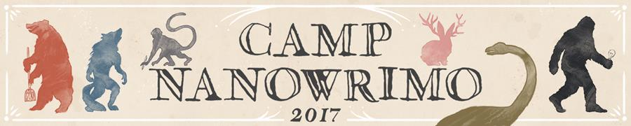 Camp NaNoWriMo 2017: Encounter wonder.