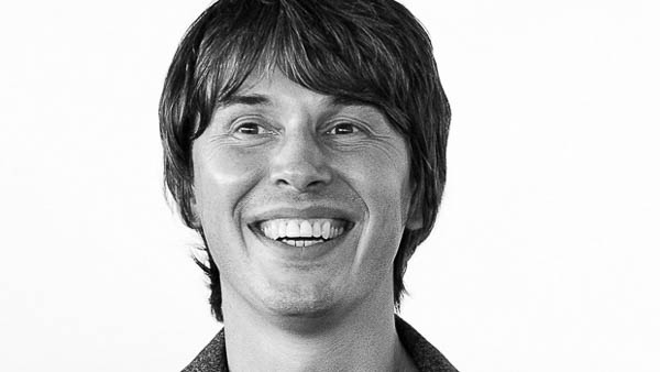 Professor Brian Cox, one of the 'Profs' for Pi with the Prof
