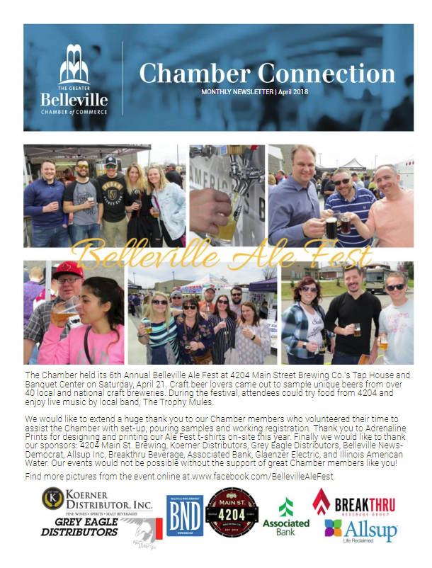 May Chamber Connection Newsletter