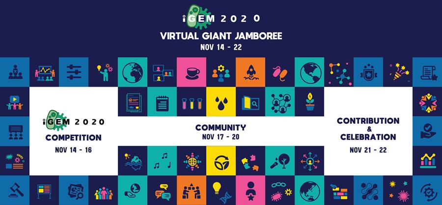 Image: iGEM 2020 Virtual Giant Jamboree, Nov 14-22