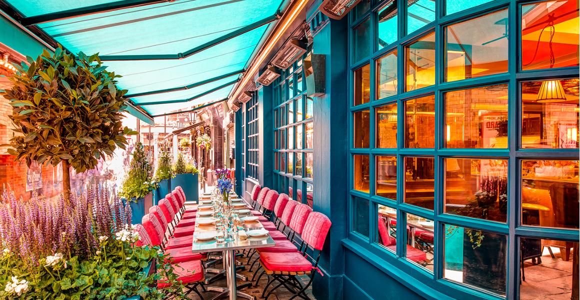 Caprice Restaurants Summer Terraces