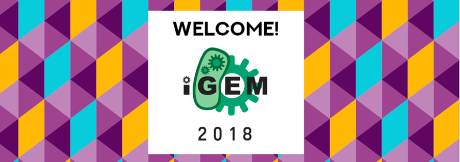 Image: Welcome to iGEM 2018