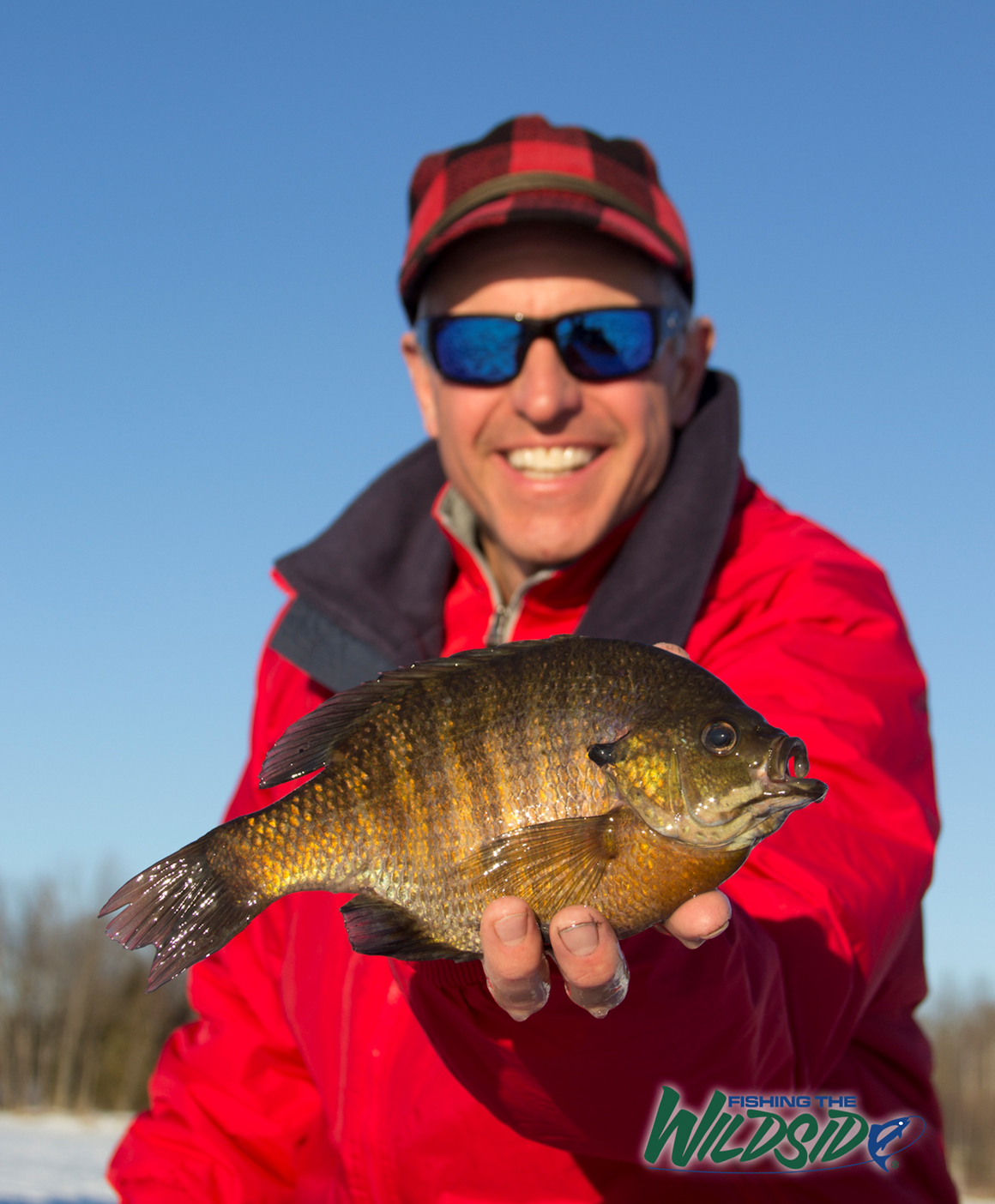 Chip Leer with Bluegill