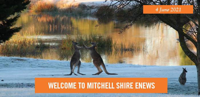 Welcome to Mitchell Shire eNews. 4 June 2021