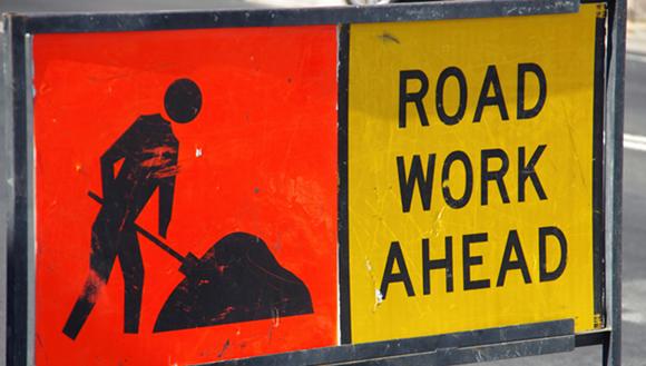 Roadwords sign