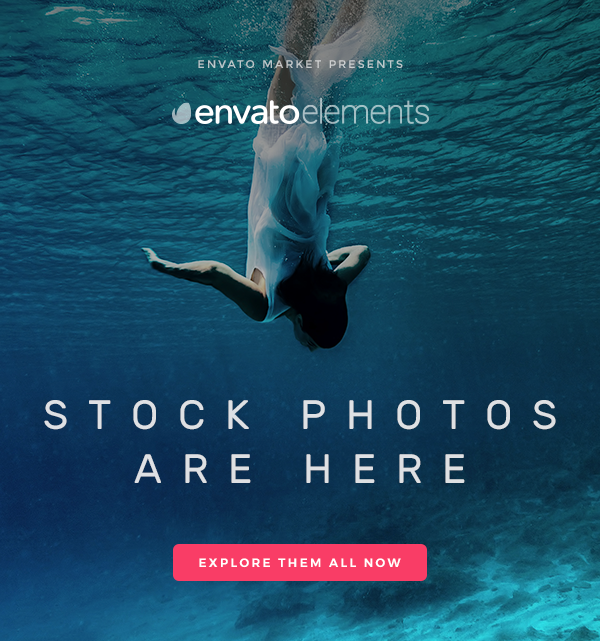 They're Here! Stock Photos on Envato Elements