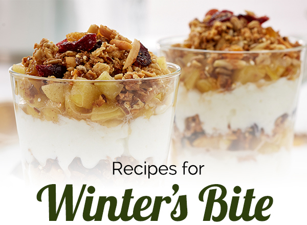 Recipes for winter's bite