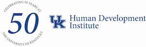 Celebrating 50 years at the University of Kentucky UK HDI logo
