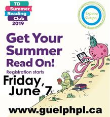Summer Reading Fun begins Friday June 7 for everyone (all ages) at all library locations.