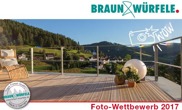 Privatsphäre für den Sommer: Braun & Würfele