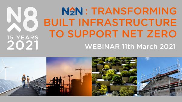 Webinar: Transforming built infrastructure to support net zero