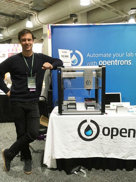 Opentrons at the 2018 Giant Jamboree