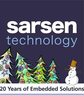 Christmas Logo Sarsen Technology