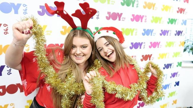 Picture JOY Volunteers Maddy & Aimee