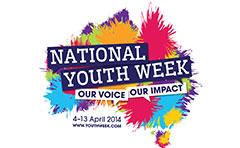 National Youth Week logo