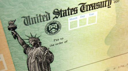 The IRS has started sending payments to taxpayers.