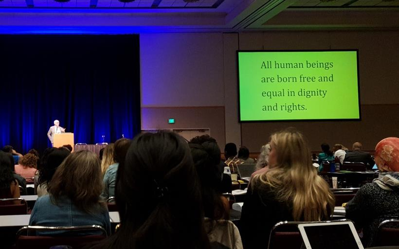Photo: Keynote at North American Refugee Health Conference by Alex Neve