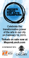 Ad: Mayor's lunch for arts champions