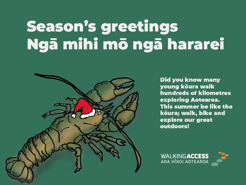 Season's greetings. Ngā mihi mō ngā hararei