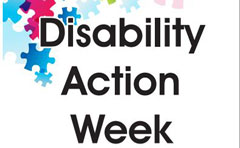 Disability Action Week flyer