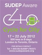 Poster: Cycle for Olly