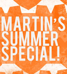 Martin's Crazy Summer Hire Special