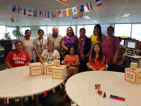 Celebrating mother language at Mercury