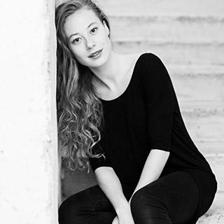 Sara Viktoria Bjerregaard (foto Isak Hoffmeyer)