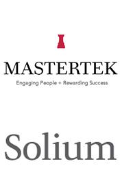 Mastertek & Solium logos