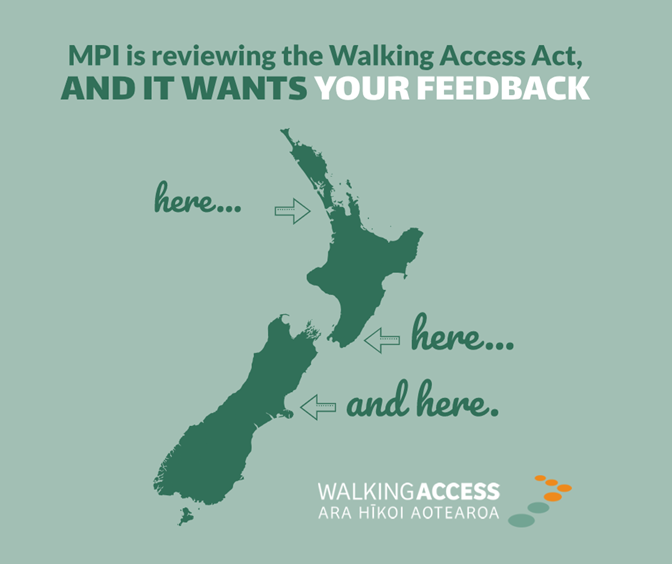 Have your say on the Walking Access Act