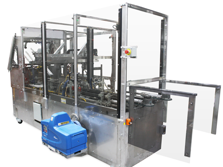 MK-CTP - Compact Intermittent Motion Tray Packer