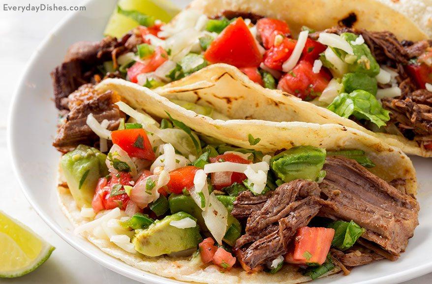 Leftover Roast Beef Street Tacos