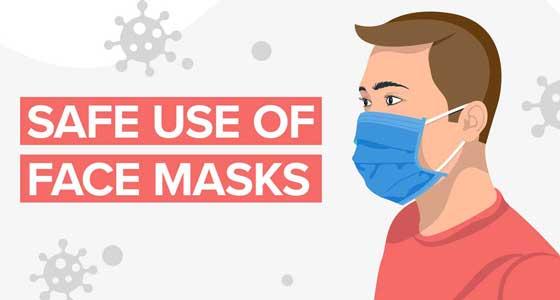 Safe use of masks