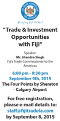 Ad: Fiji Trade Commission -  Last chance to register for free event