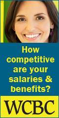 Ad: WCBC - How competitive are your salaries and benefits?