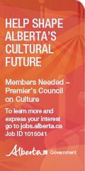 Help shape Alberta's cultural future