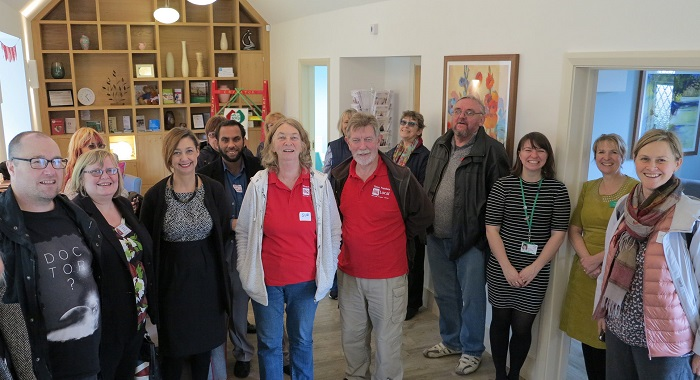 Heath Big Local palliative care hub visit