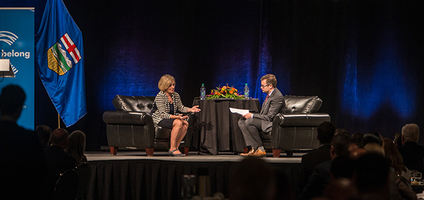 Context: Unpacking Premier Rachel Notley's first address to the Calgary business community