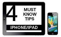 iPhone and iPad tips