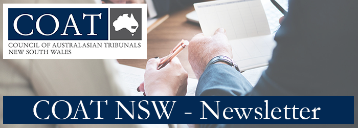 COUNCIL OF AUSTRALASIAN TRIBUNALS NEW South Wales