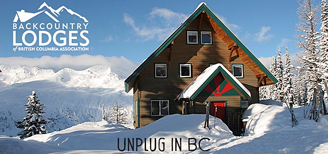 Unplug in BC. Find a Lodge today