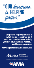 Ad: AMA Registries business services