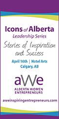 AWE Icons of Alberta Leadership Series