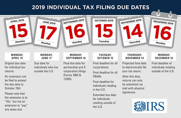 Taxes Due - April 15